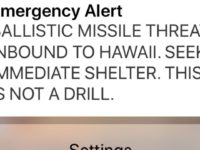 What It Was Like Thinking A Ballistic Missile Was Speeding Toward Us In Hawaii