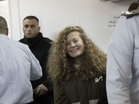 Ahed Tamimi in Ofer military court on 15 January. Oren Ziv ActiveStills