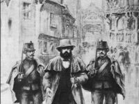 Marx arrested in Brussels 1848
