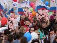 An American Babushka in Moscow: May Day in the Former Soviet Union