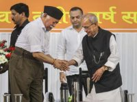 RSS, Mukherjee and the Mohan Bhagwat speech