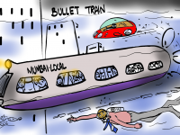 Bullet trains and local trains