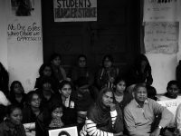 TISS protest calls out Hindutva and neoliberal nexus