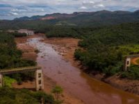 Aerial view of rail bridge taken down by a mudslide after the collapse of a dam at an iron-ore mine belonging to Brazil's giant mining company Vale near the town of Brumadinho, state of Minas Gerias, southeastern Brazil (Photo: BNN)
