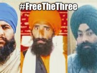 """Surrey Gurdwara holds congregation for three Sikh men convicted for merely keeping """"seditious"""" literature in India"""
