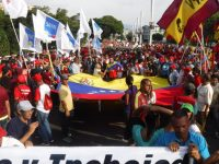 A first-hand account from Caracas on the May Day