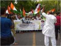 Massive Demonstration At New Delhi, India In Support Of The Struggling People of Palestine on International Quds Day!