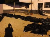 Bombing of detention center in Libya kills at least 44 refugees