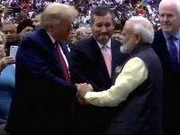 Reading from the Houston Show of Narendra Modi
