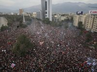 Millions march for social equality across Chile