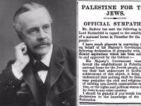 Balfour Declaration: A Wrong Waiting To Be Righted