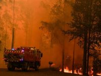 Australian cities bathed in smoke from hundreds of bushfires