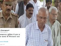 Why Is S R Darapuri In Jail?