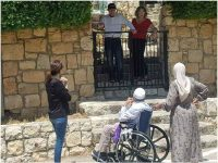 Jews to Palestinian Whose Home They Occupy: What do you want?