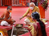 Media, instead of faulting PM Modi for Bhoomi pooja, chants Jai Shri Ram