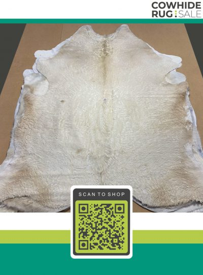 Absolute White Cow Skin 6 X 7 Wh 26 33