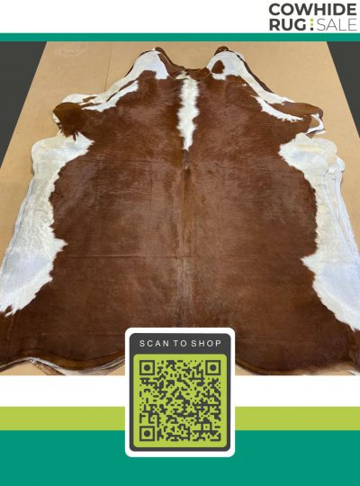 Authentic Brown Cowhide 6 X 7 Brw 26 20