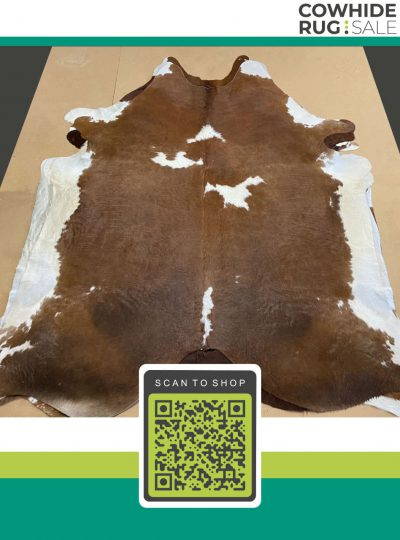 Brown And White Hide 5 X 6 Brw 17 80