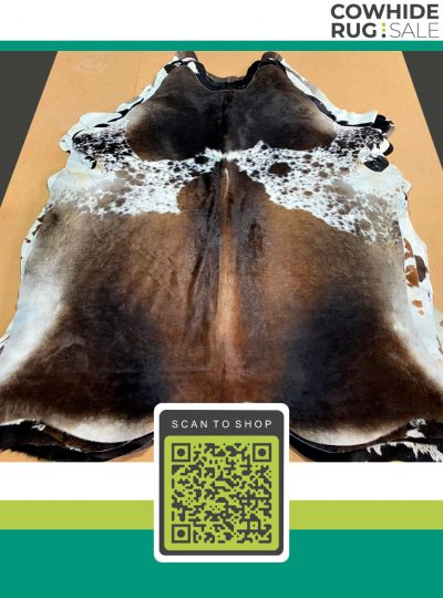 Brown Speckled Cowhide 6 X 7 Brw 06 226