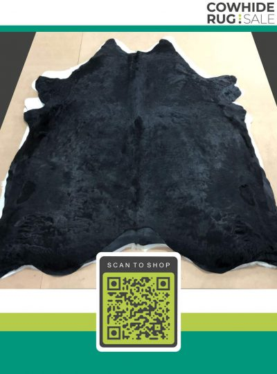 Dyed Black Cow Skin 6 X 7 Dy 10 05