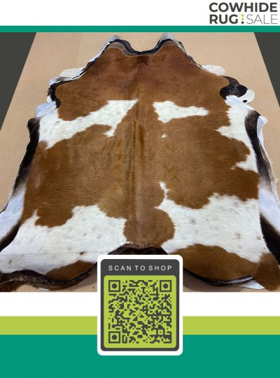 Large Brown And White Cowhide 7 X 8 Brw 7 432