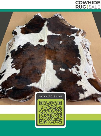 Large Tricolor Cow Skin 7 X 8 Tr 26 273