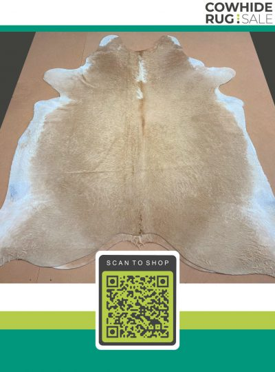 Light Beige And White Cowhide 5 X 6 Bew 08 44