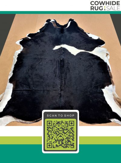 Small Bw Cowhide 5 X 6 Bw 30 491