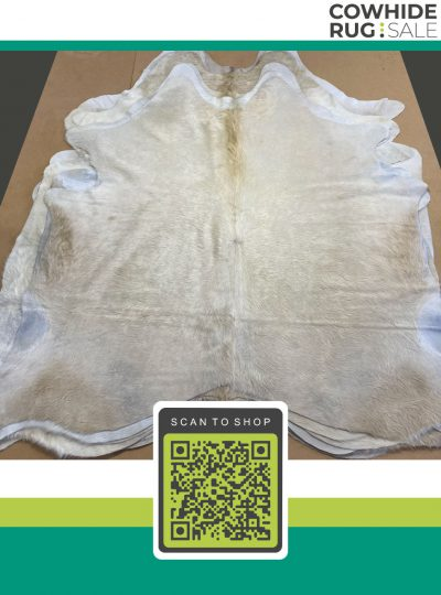 Small White Cowhide 5 X 6 Wh 1 105