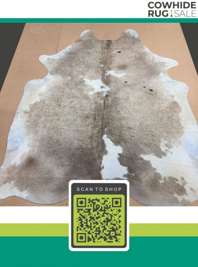 Spotted Grey Cowhide 6 X 7 Gr 12 430