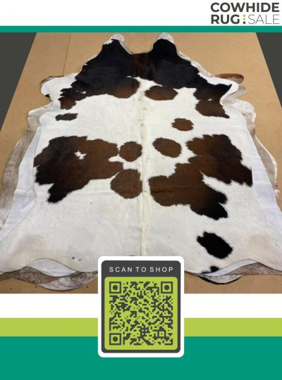 Spotted Tricolor Cowhide 5 X 6 Tr 14 546