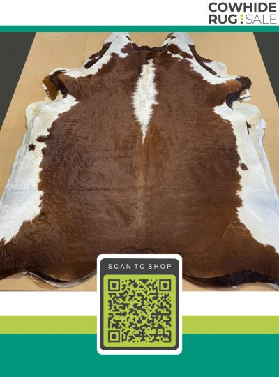 Traditional Brown Cowhide 7 X 8 Brw 07 18
