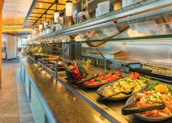 "Buffets de Royal Caribbean ""se transforman en algo diferente"""