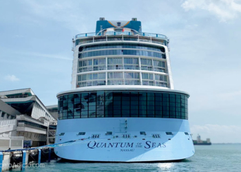 Pasajero positivo en Covid-19 a bordo del Quantum of the Seas
