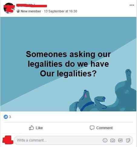 Someone asked for CoinMD legalities but nobody dares to answer.