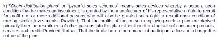 Section 4(k) of R.A. 7394