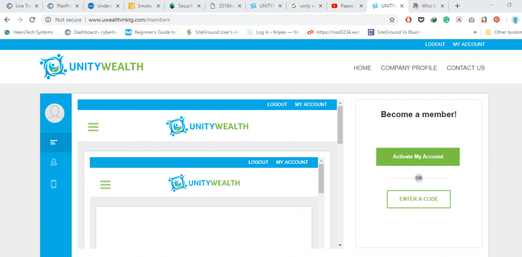 Unity Wealth Review Dashboard