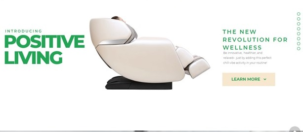 Positive Living My First Love Massage Chair MFL Review