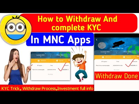 2012040 MNC Live Withdraw 🤑 || How to complete MNC kyc || MNC Withdraw Process || Live Payment proof