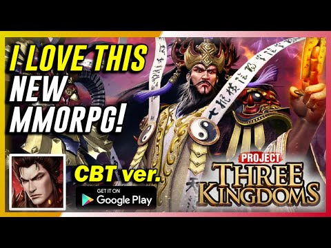 Project Three Kingdoms (CBT) Gameplay First Impressions | Worth Playing!