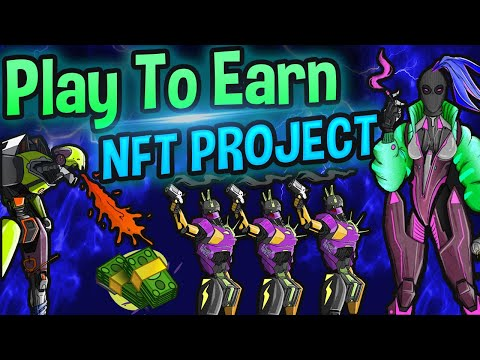 Earn Up To $1000/Month w/ This NFT Game! Play To Earn Drunk Robots NFT Looks AWESOME! -By Liquidifty