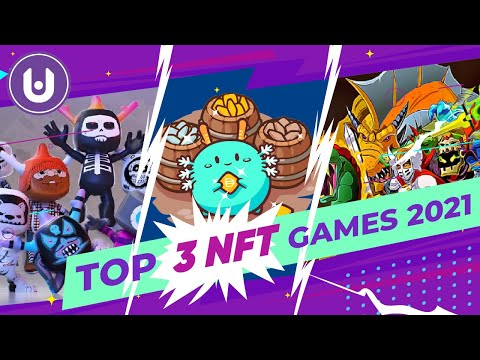 TOP 3 NFT GAMES OF 2021 (Play to Earn!)