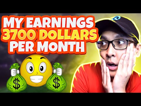 I Earned $3700 A Month Just By Playing NFT Games!