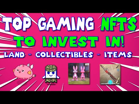 TOP 8 CRYPTO GAMES – GAMING NFTS! TOP NFT PICKS!