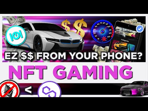NFT Crypto Gaming on your phone — earn EZ money?