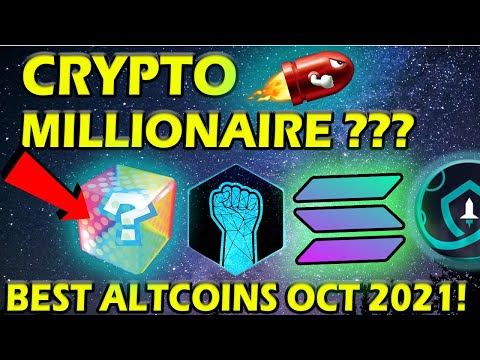 TOP 5 BEST ALTCOINS October 2021 with Huge POTENTIAL!! 🚀 (Millionaire Potential ???) 🚀💰