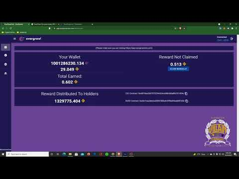 New Gem EVER GROW COIN (EGC), plus collecting from the usuals BNB MINER, BUSD MINTER, DRIP, REX 3%