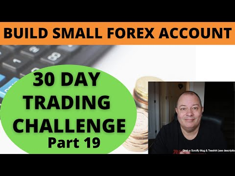 HOW TO BUILD A SMALL FOREX ACCOUNT == 10 pip Challenge Part 19