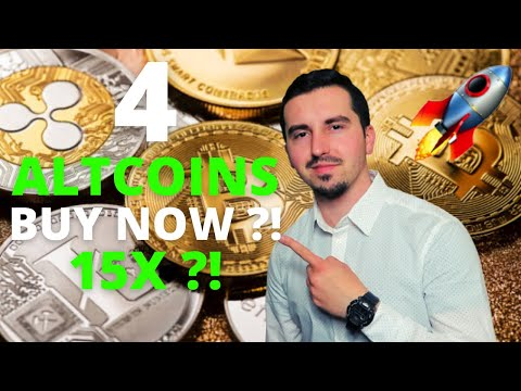 Top 4 Altcoins I'm Buying Now 🚀| CRYPTO May 2021| 15X% ?! HUGE POTENTIAL?!| BUY THE DIP ?!🔥