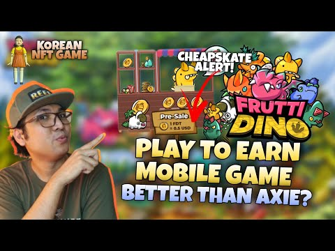 Frutti Dino Play to Earn NFT Game Php 25.00 per token | New NFT game better than Axie? [ENGLISH SUB]
